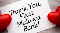 Thank you First Midwest Bank